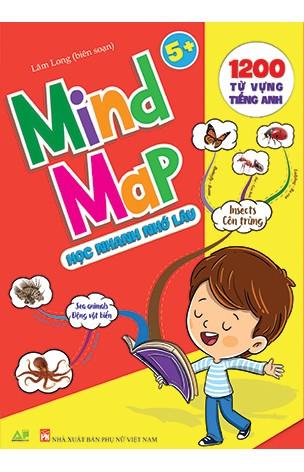 Mind Map- Sơ Đồ Tư Duy 1200 Từ Vựng Tiếng Anh Cho bé Với 35 Chủ Đề