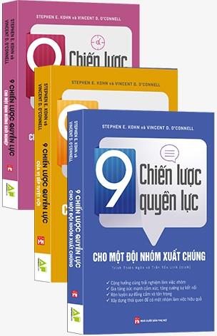 COMBO 9 CHIẾN LƯỢC QUYỀN LỰC TRONG KINH DOANH - 3 CUỐN