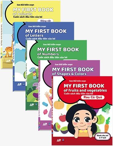 Combo 5 Cuốn My First Books - Cuốn Sách Đầu Tiên Của Bé