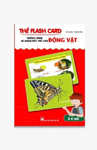 Thẻ Flash Card Thông Minh - Bé Nhận Biết Thế Giới Động Vật