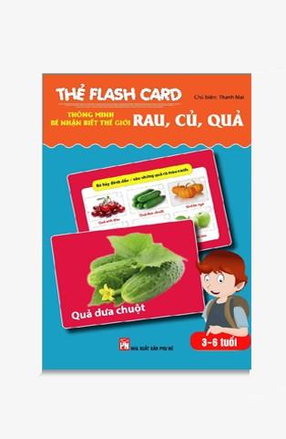 Thẻ Flash Card Thông Minh - Bé Nhận Biết Thế Giới Rau, Củ, Quả